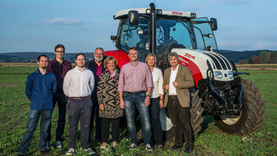 crowdfunding autonomer traktor team
