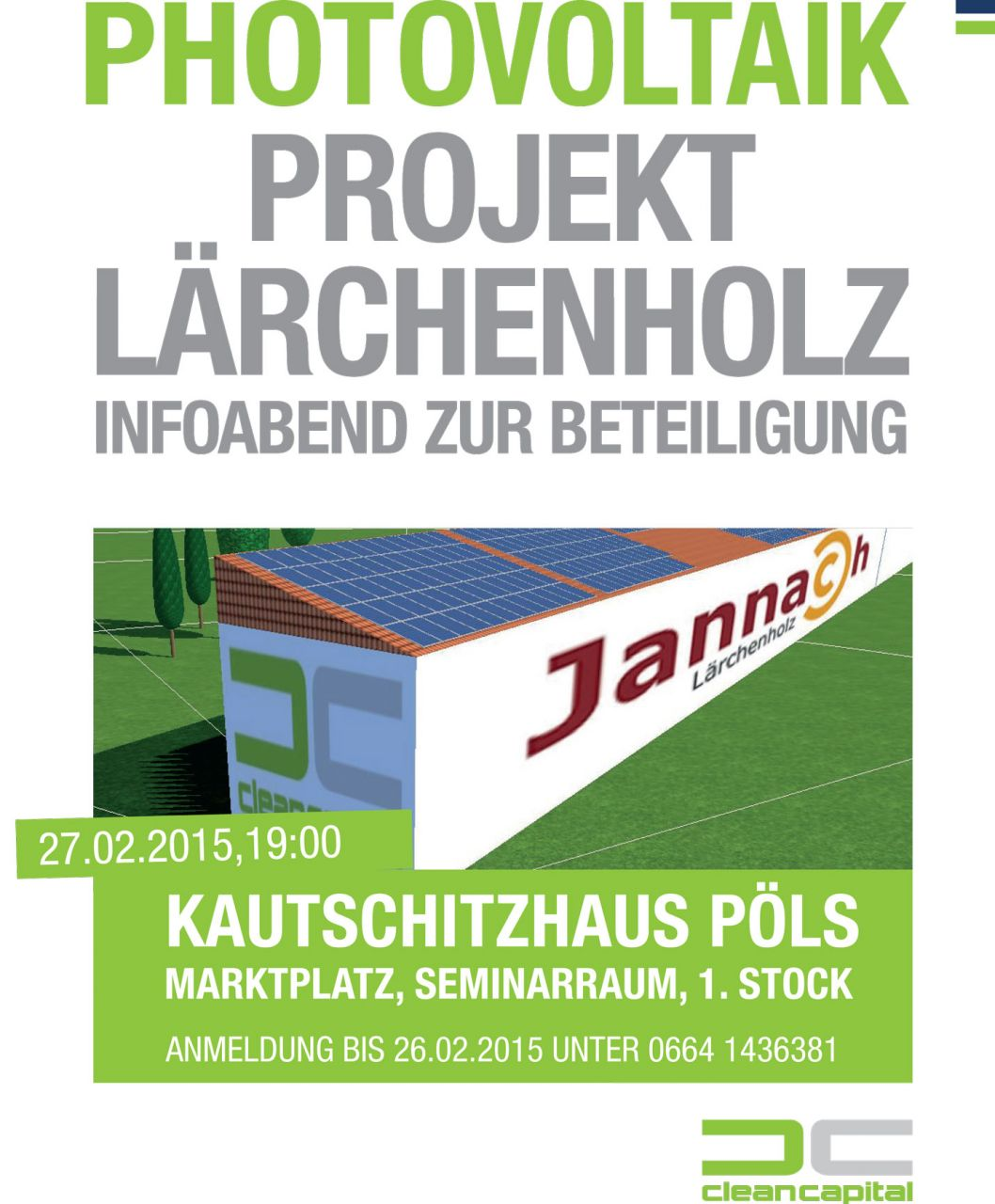 crowdfunding lärchenholz