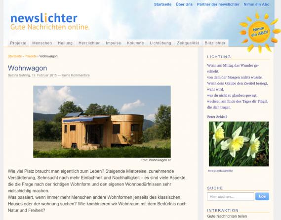 crowdfunding wohnwagon newslichter