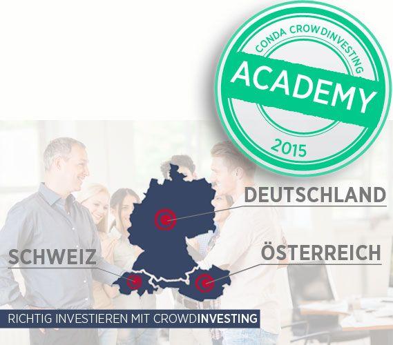 crowdfunding conda academy österreich schweiz deutschland