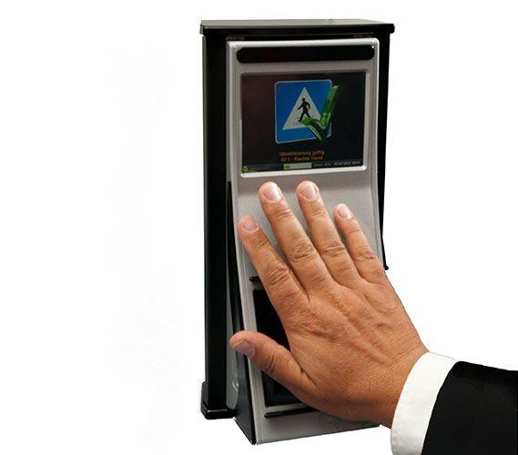 crowdfunding handvenen scanner