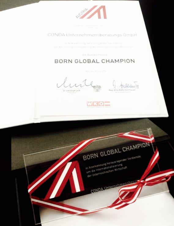 Crowdfunding Born Gobal Champions WKÖ