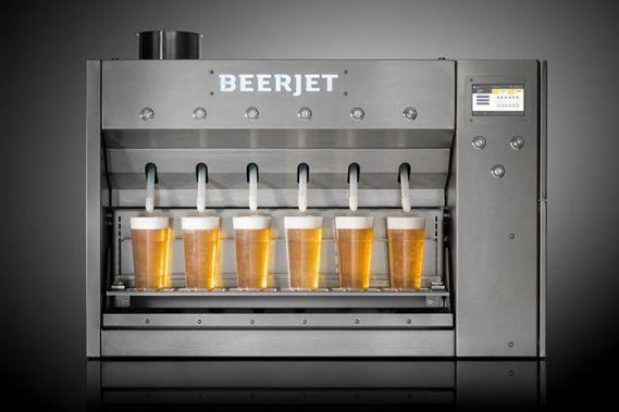 Crowdfunding beerjet