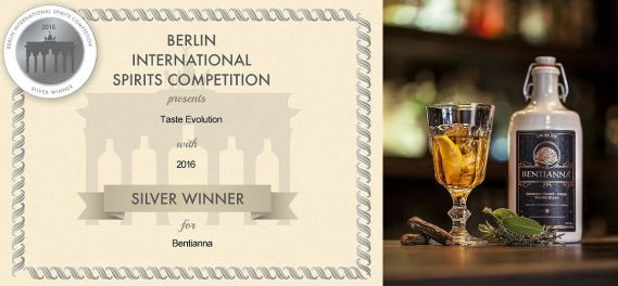 Berlin International Spirits Competition Bentianna Award