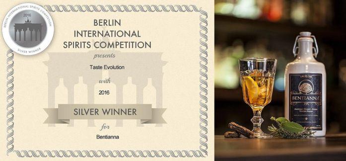 Berlin International Spirits Competition Bentianna Award