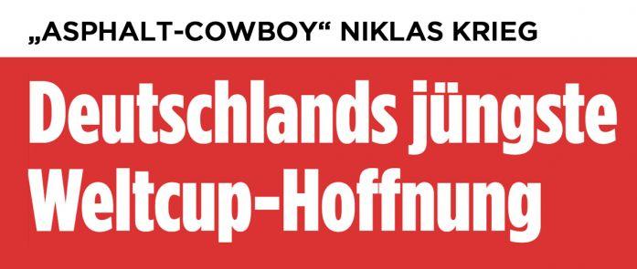 """Die Bild über """"ASPHALT-COWBOY"""" NIKLAS KRIEG"""