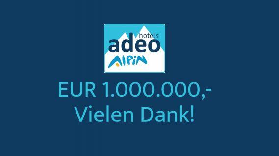 Crowdinvesting-Kampagne adeo ALPIN knackt 1 Mio-Euro-Schwelle