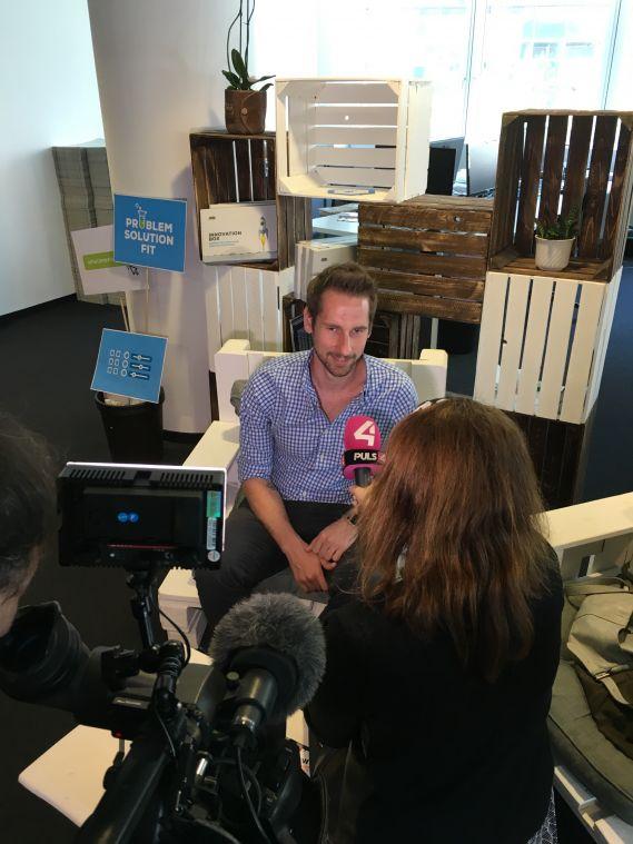 Puls4 Interview mit Daniel Horak