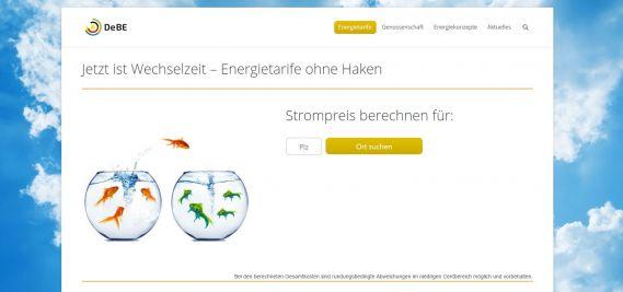 Deutsche BürgerEnergie_Strompreisrechner