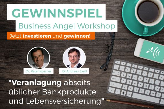 viracube CONDA Business Angel Workshop Gewinnspiel