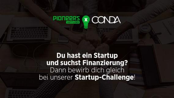 pioneers ventures x CONDA Startup-Challenge