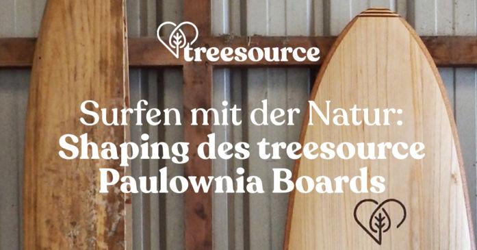 Treesource: Surfen mit der Natur