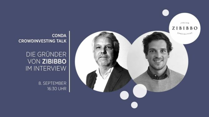 Crowdinvesting Talk mit Zibibbo