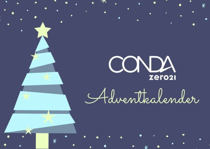 Adventkalender Verlosung CONDA