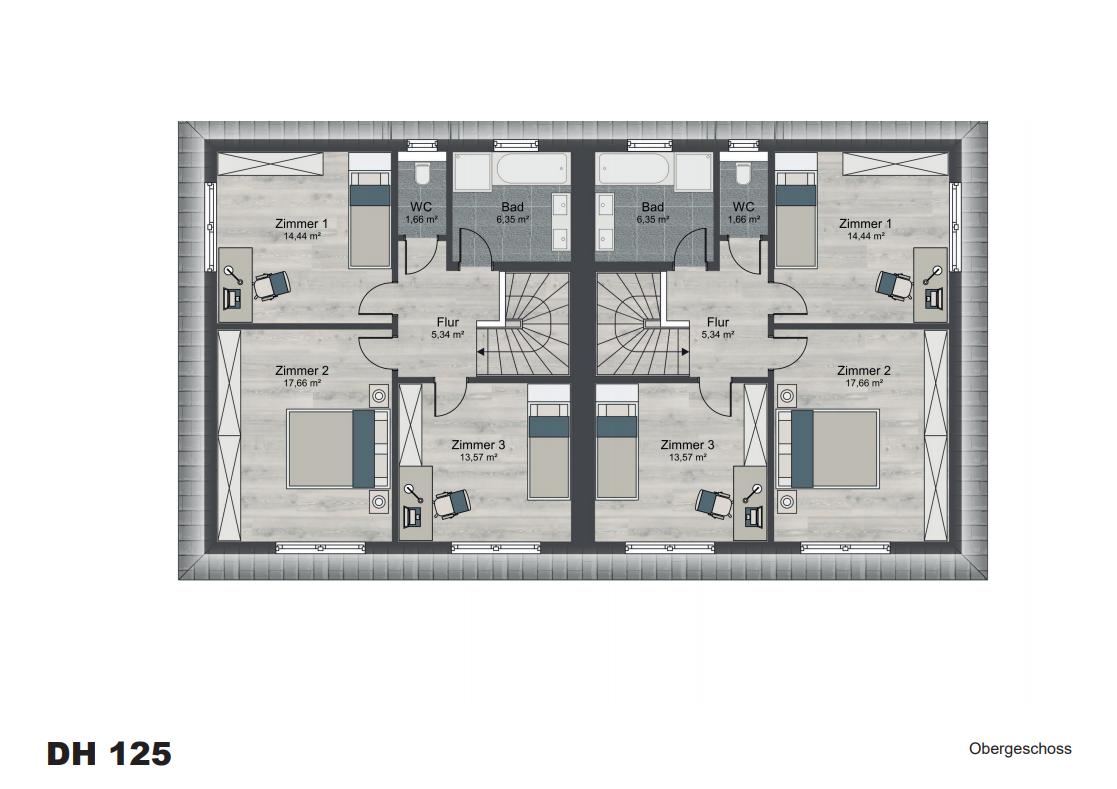 Hyggebau Layout Obergeschoss - RECrowd