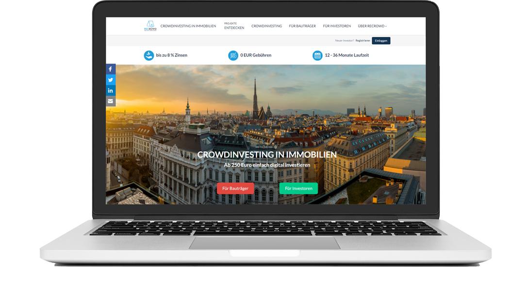 Crowdfunding whitelabel