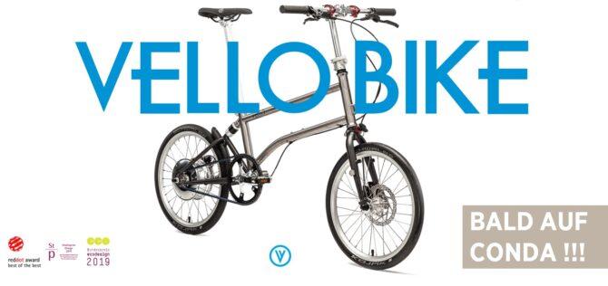 VELLO Bike - Jetzt Feedback geben zur neuen Kampagne - CONDA