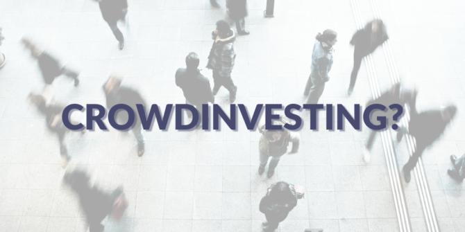 Was ist crowdinvesting?