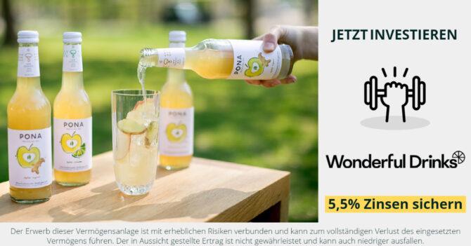 Jetzt investieren in Wonderful Drinks / PONA - CONDA