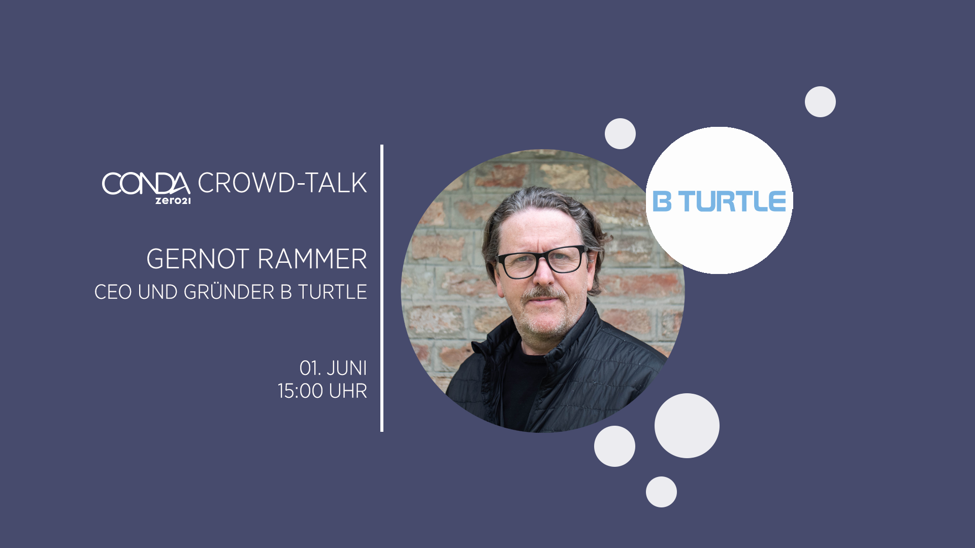CONDA Crowd Talk B TURTLE Gernot Rammer