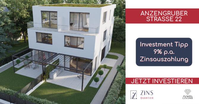 Zinsqartier Anzengruber Straße Investment Immo