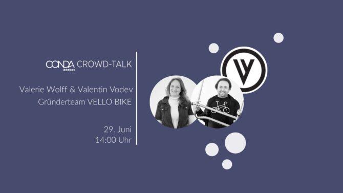Crowd-Talk mit VELLO BIKE