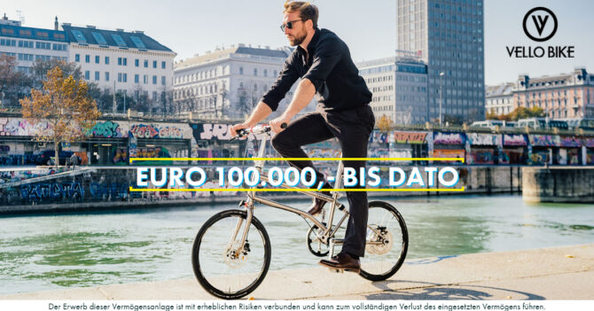 VELLO bike - crowd erfolg - conda