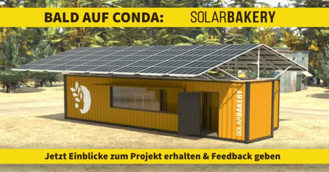 solar bakery - conda